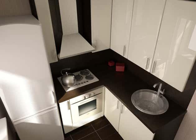 дизайн кухни для обычной хрущевки