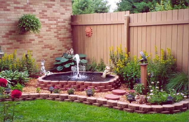 Дизайн сада своими руками фото