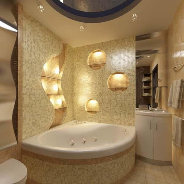 Шторы для угловой ванны фото