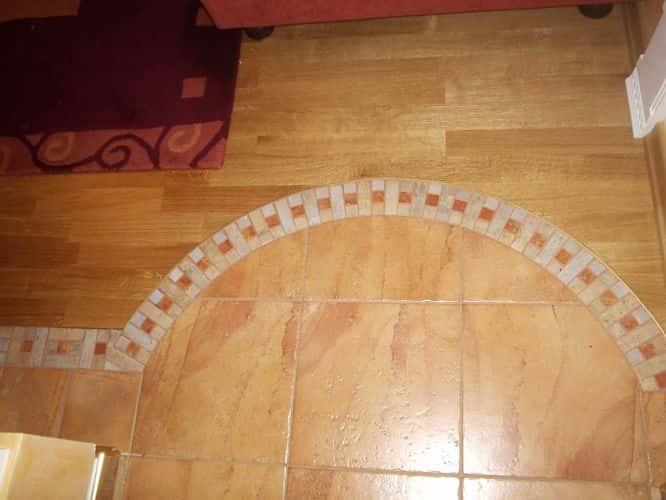полы в коридоре