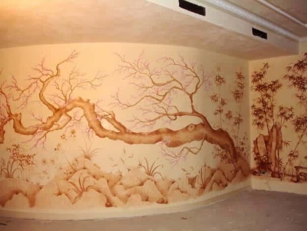 Картина или роспись стены в качестве подарка - презент удивительной...