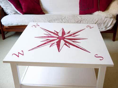 Рисунок на стол своими руками 27