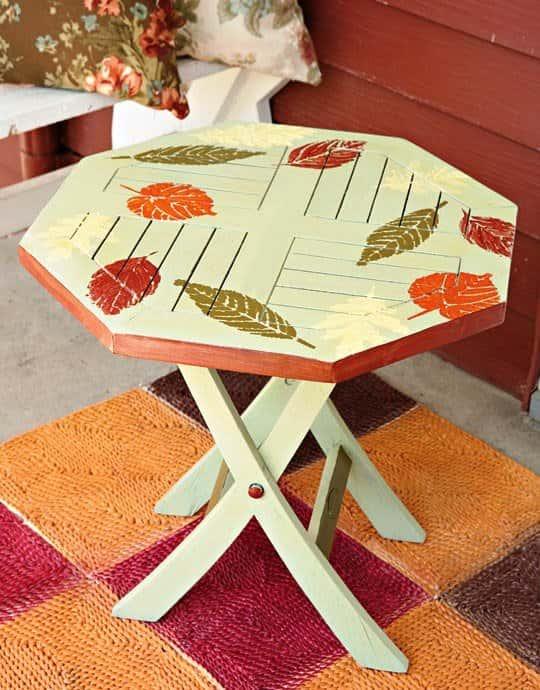 Как сделать декор стол 195