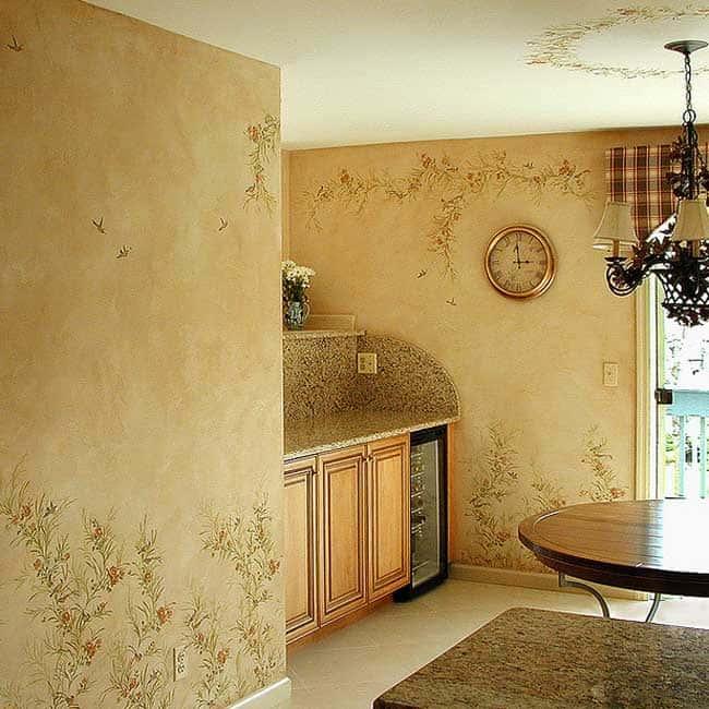 Идеи декорирования стен на кухне своими руками 69