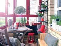 Как обустроить балкон - идеи для небольших балконов