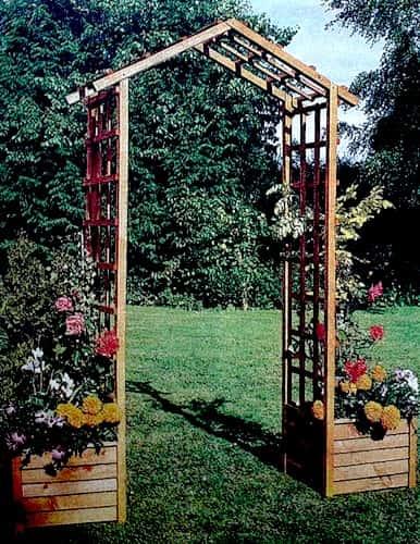 Сделать арку для сада своими руками