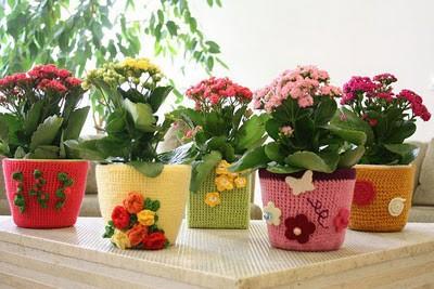 Декор цветочных горшков своими руками (фото) 91607