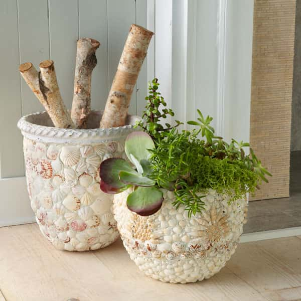 Декор цветочных горшков своими руками (фото) 57153