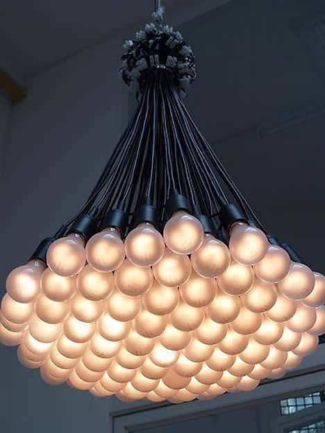 Эксклюзивный светильник мастер класс идеи #8