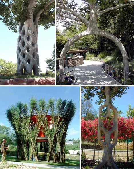 Искусство формирования деревьев (арбоскульптура) - оригинальный ладшафтный дизайн 14212