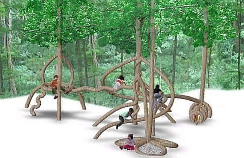 Искусство формирования деревьев (арбоскульптура) - оригинальный ладшафтный дизайн 79219