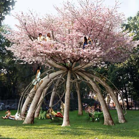 Искусство формирования деревьев (арбоскульптура) - оригинальный ладшафтный дизайн 93189
