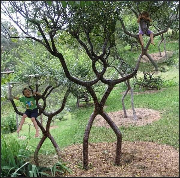 Искусство формирования деревьев (арбоскульптура) - оригинальный ладшафтный дизайн 23106