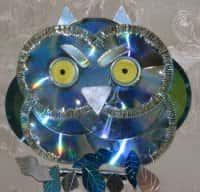 Поделки из CD дисков - оригинальные идеи декора