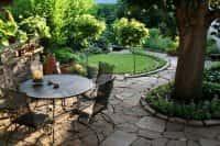 Как оформить зону отдыха в саду