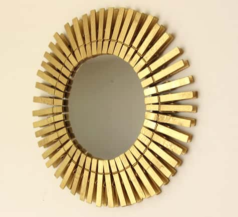 Рамка солнце для зеркала своими руками