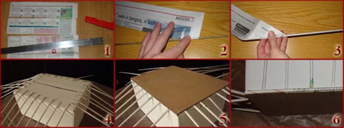 Из чего сделать коробку для белья своими руками
