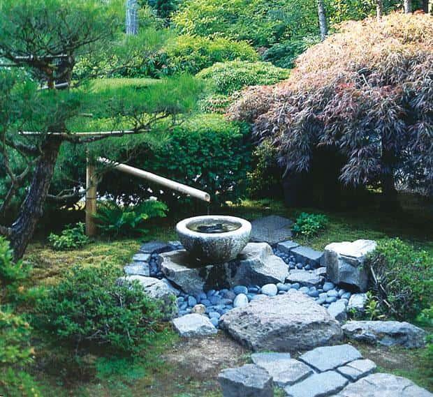 Сад в японском стиле - устраиваем родничок своими руками 14352