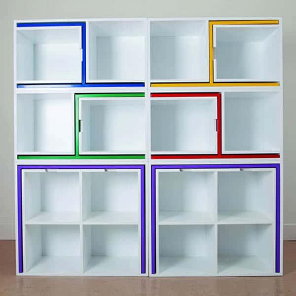 Мебель для дома умный книжный шкаф