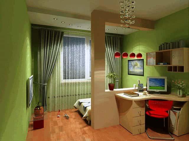 Дизайн комнаты для молодой семьи
