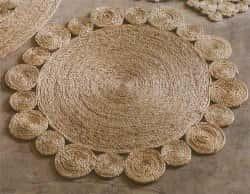 Оригинальный коврик в стиле кантри своими руками