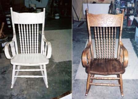 Реставрация старой мебели своими