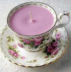 Чайные чашки как оригинальное украшение интерьера