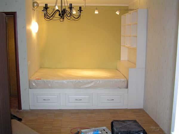 Встроенная кровать своими руками фото 735