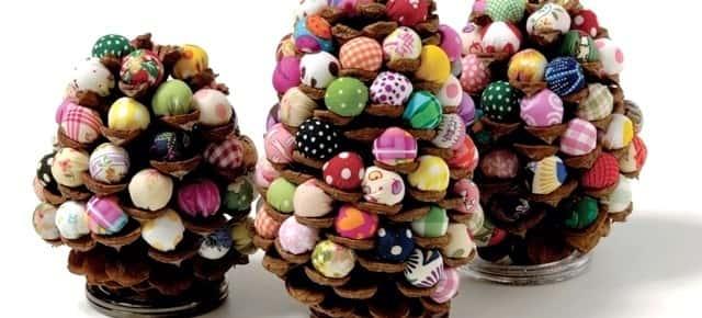 Декор  из  шишек  -  готовимся  к  Новому  году  (другие  виды  рукоделия)