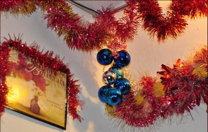 Украшение для потолка на новый год