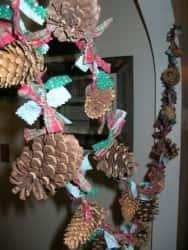 Декор из шишек - готовимся к Новому году