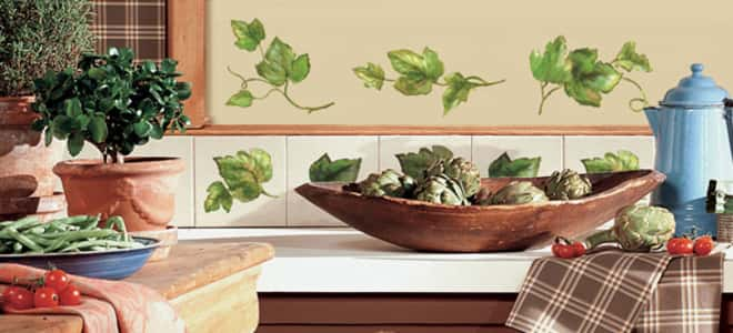 Kitchen wall decals removable