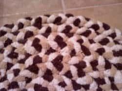 Махровый коврик своими руками - мастер-класс