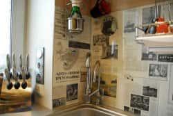 Идеи по украшению кухонных стен