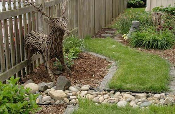 Фото поделки для сада своими руками из