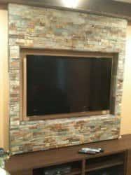 Дизайн стены под телевизор. 80871