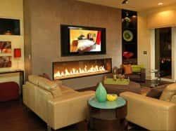 Дизайн стены под телевизор. 62767