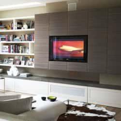 Дизайн стены под телевизор. 81988