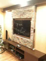 Дизайн стены под телевизор. 50218