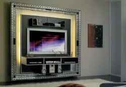 Дизайн стены под телевизор. 18567