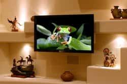 Дизайн стены под телевизор. 99604