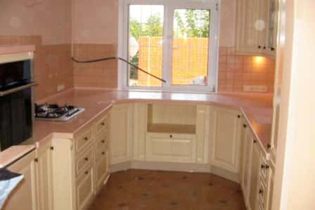 Кухня 8 кв м в панельном доме