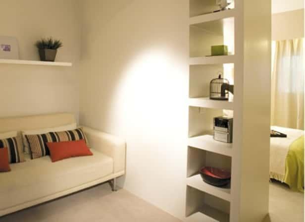Чем можно разделить комнату на две зоны своими руками