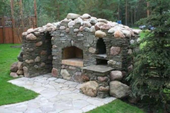 Природный камень в ландшафтном дизайне своими руками