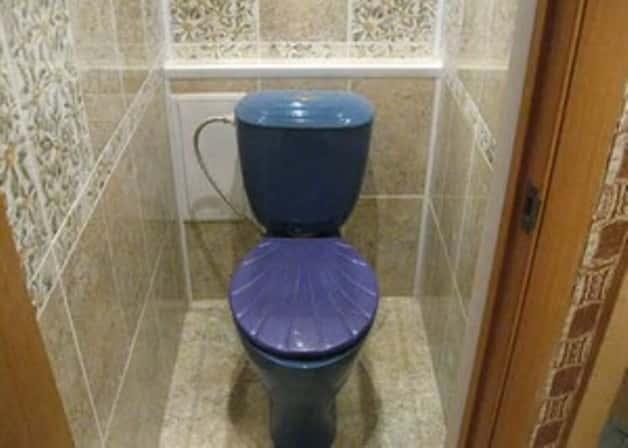 Проект интерьера туалета в квартире