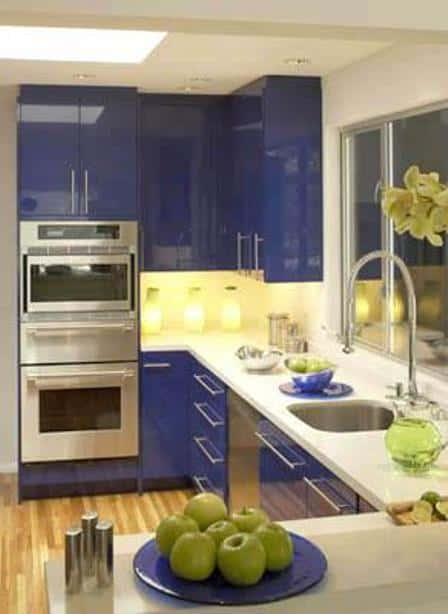 Каталоги мебели: Интерьер Маленькой Кухни