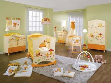 Как обустроить детскую комнату - идеи для вашего малыша