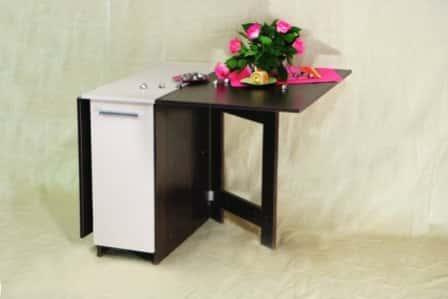Практичный элемент меблировки – стол-книжка