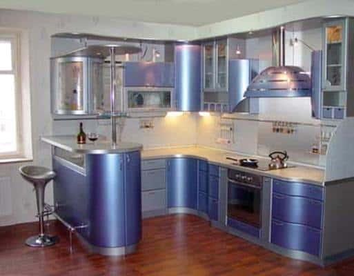 Самые различные стили кухонь