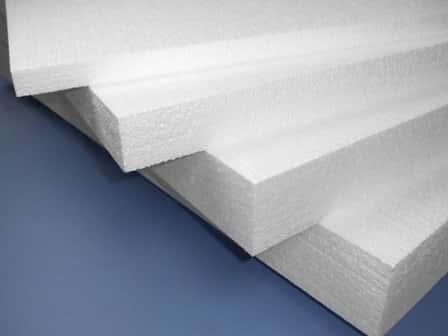 Утепление бетонного пола пенопластом